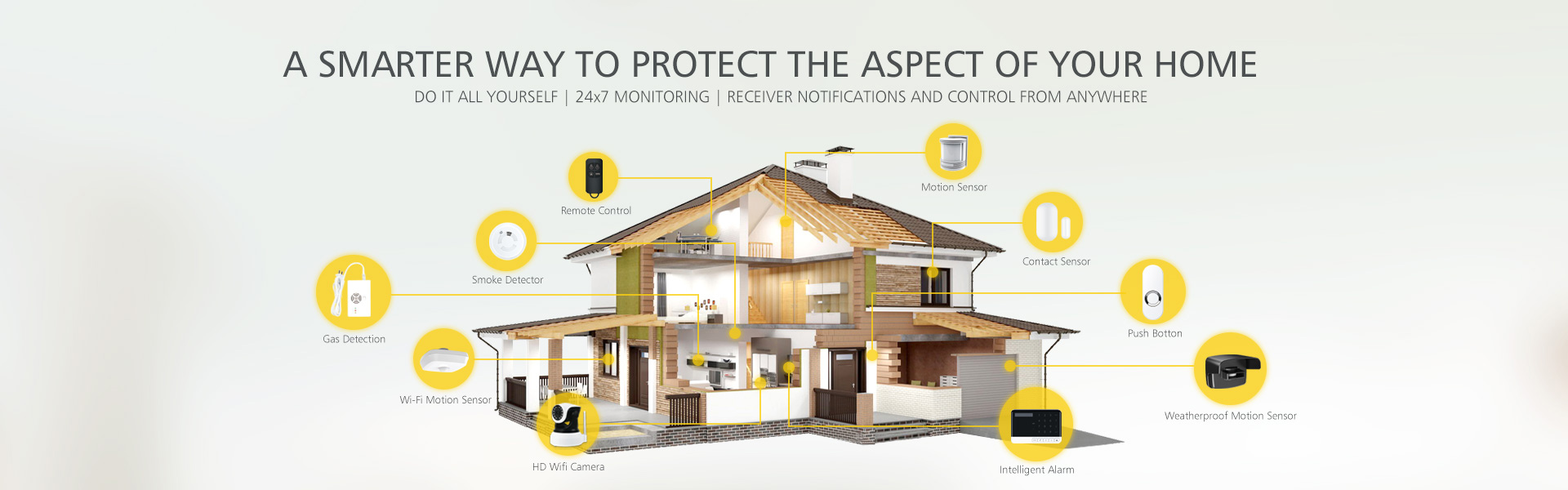 A SMRTER WAY TO PROTECT THE ASPECT OF YOUR HOME